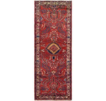 Image of 3' 6 x 9' 4 Borchelu Persian Runner...