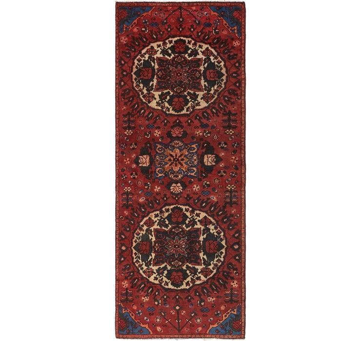 3' 4 x 9' 4 Shiraz Persian Runner Rug