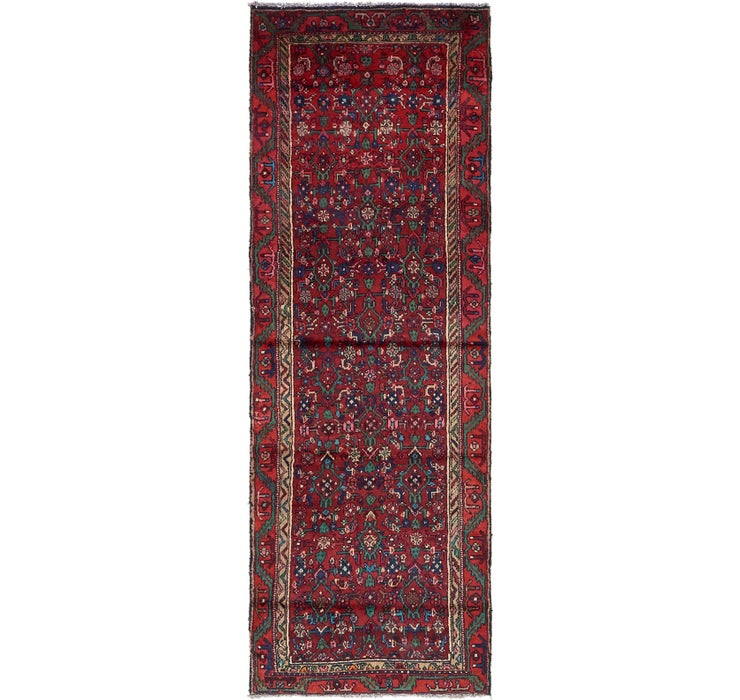 90cm x 267cm Hossainabad Persian Run...