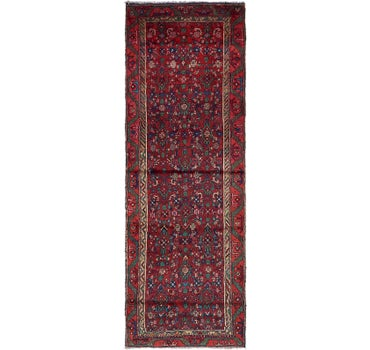 3' x 8' 9 Hossainabad Persian Runner Rug main image