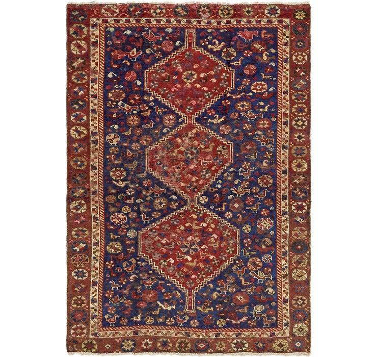 137cm x 198cm Shiraz Persian Rug