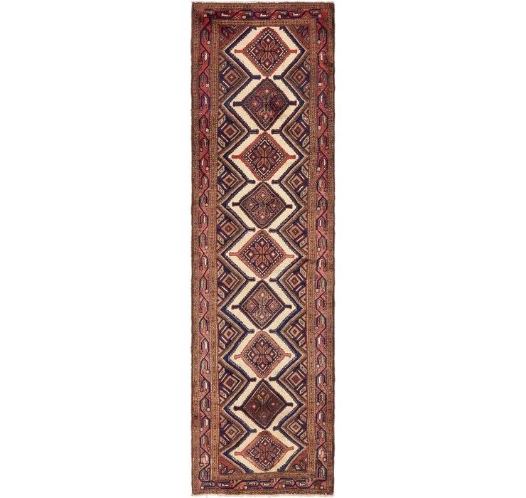3' x 10' 10 Chenar Persian Runner Rug