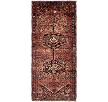 3' 10 x 8' 10 Zanjan Persian Runner Rug