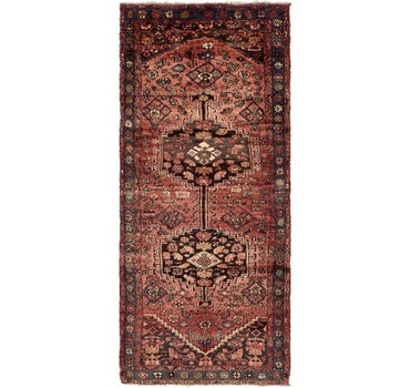 3' 10 x 8' 10 Zanjan Persian Runner Rug main image