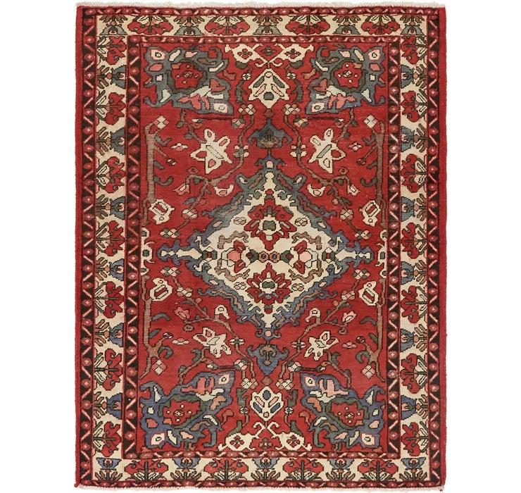 4' 9 x 6' 5 Shiraz Persian Rug
