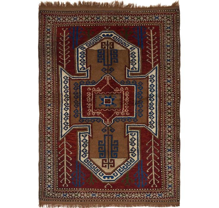 152cm x 205cm Shiraz Persian Rug