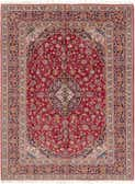 9' 7 x 12' 9 Kashan Persian Rug thumbnail