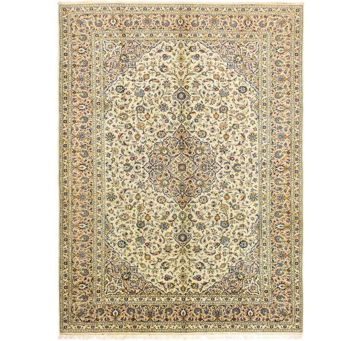 9' 10 x 13' 5 Kashan Persian Rug