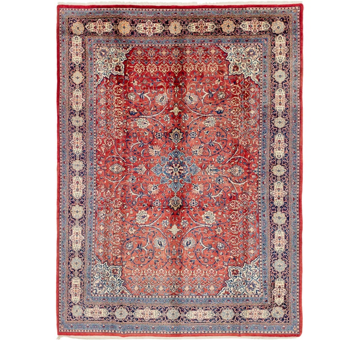275cm x 370cm Sarough Persian Rug