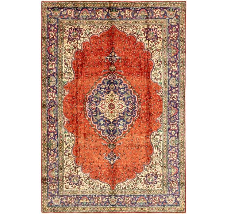 240cm x 358cm Tabriz Persian Rug