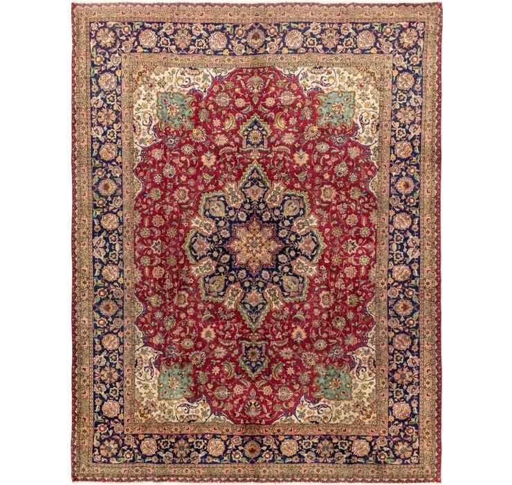 290cm x 378cm Tabriz Persian Rug