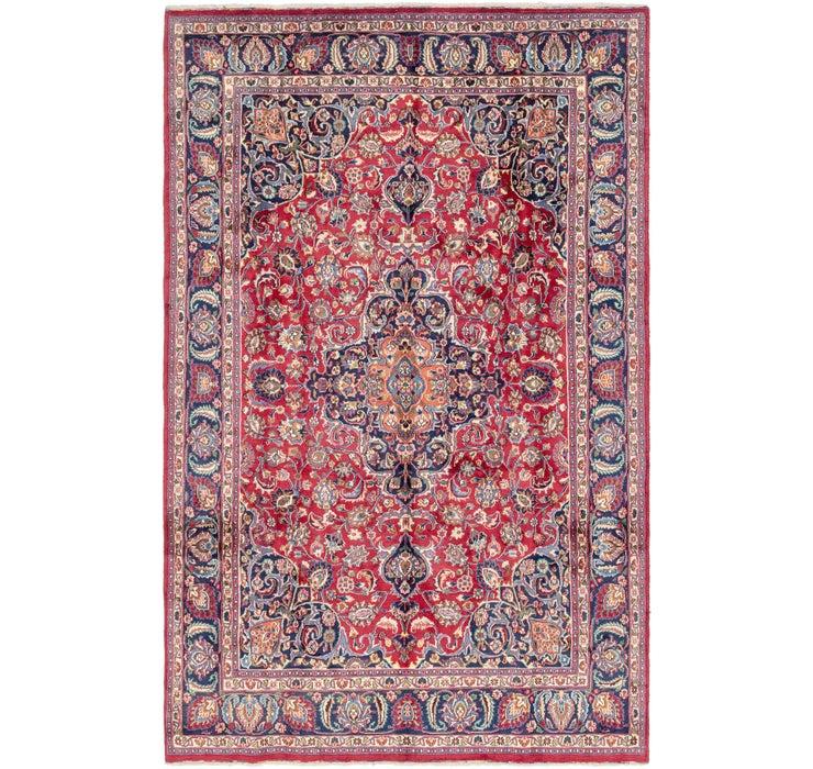 7' 9 x 12' 6 Mashad Persian Rug