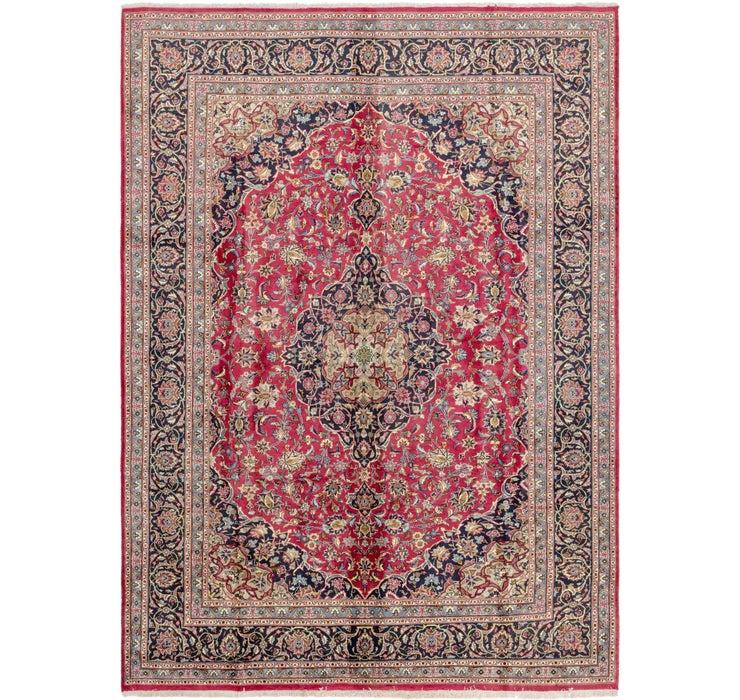 245cm x 343cm Mashad Persian Rug