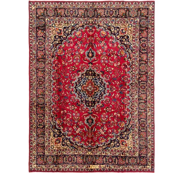 235cm x 328cm Mashad Persian Rug