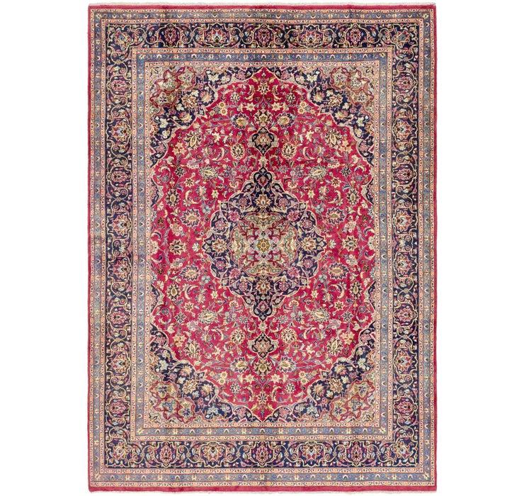 245cm x 353cm Mashad Persian Rug