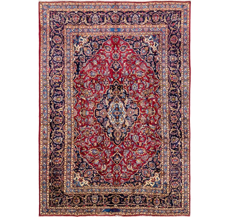 250cm x 348cm Mashad Persian Rug