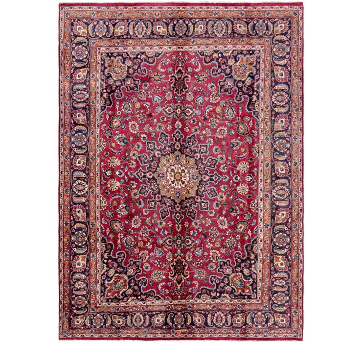 245cm x 335cm Mashad Persian Rug