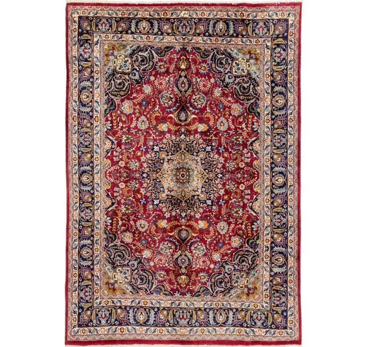 245cm x 345cm Mashad Persian Rug