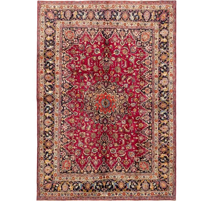 250cm x 360cm Mashad Persian Rug
