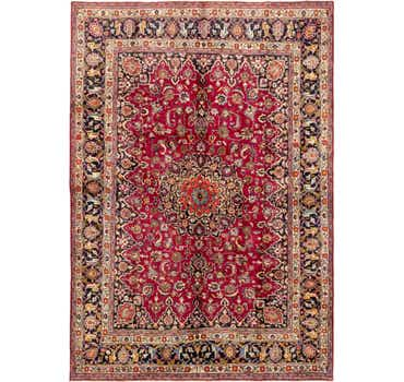 Image of 8' 2 x 11' 10 Mashad Persian Rug