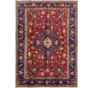 8' x 11' 6 Tabriz Persian Rug main image
