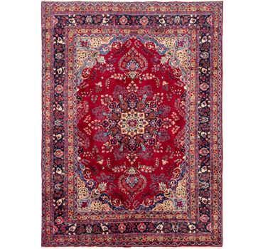 Image of 8' x 10' 10 Mashad Persian Rug
