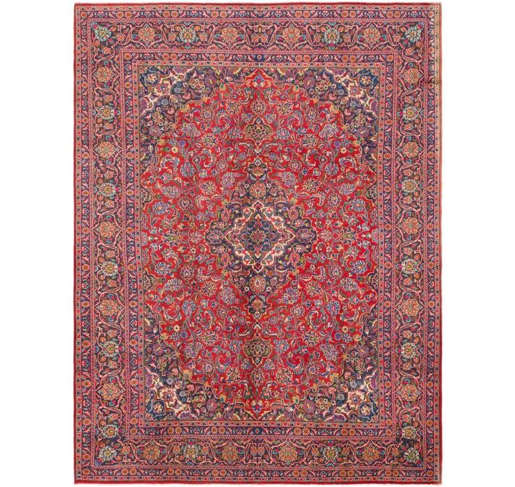 295cm x 395cm Mashad Persian Rug