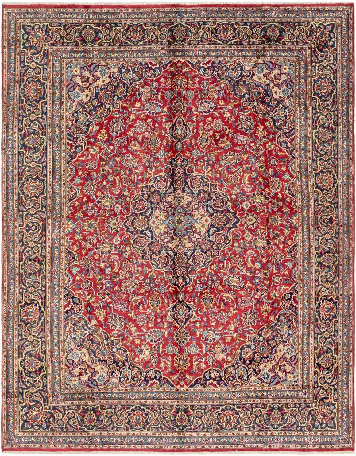9' 8 x 12' 7 Mashad Persian Rug main image