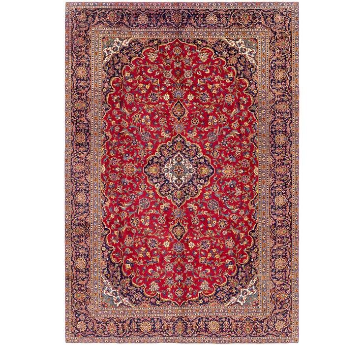 267cm x 390cm Kashan Persian Rug