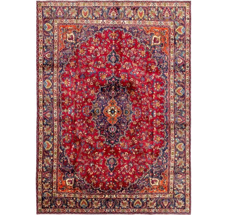 295cm x 415cm Mashad Persian Rug