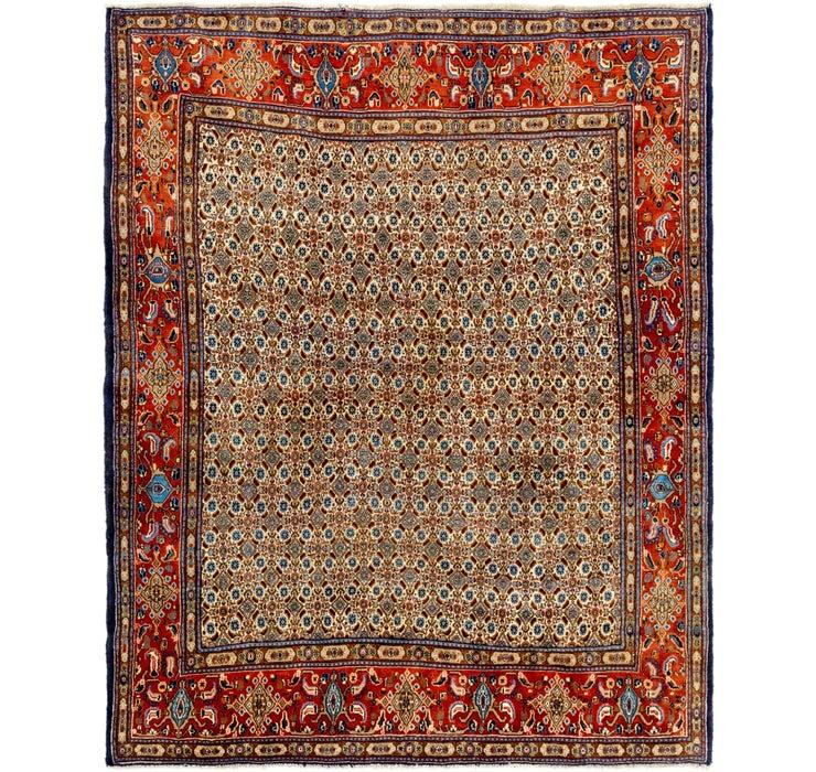 Image of 6' 6 x 8' 2 Mood Persian Rug