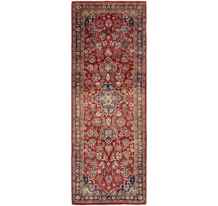 3' 5 x 9' 8 Mashad Persian Runner Rug