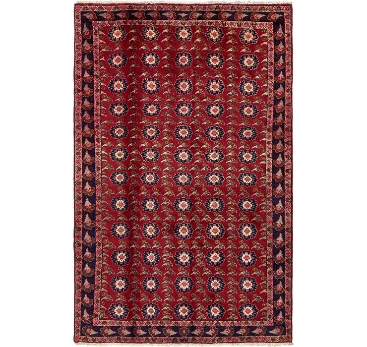 147cm x 230cm Mashad Persian Rug