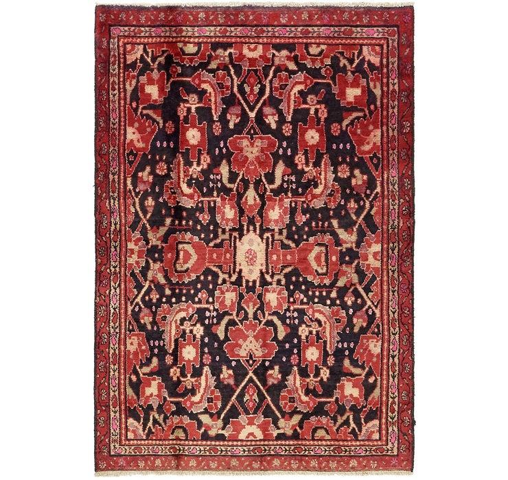 4' 1 x 6' 2 Hamedan Persian Rug