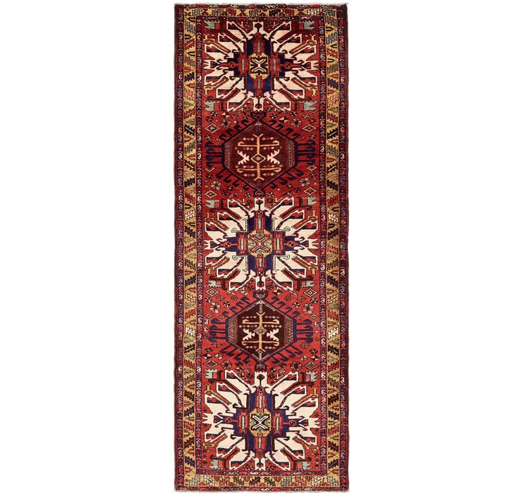 Image of 3' 10 x 11' Zanjan Persian Runner Rug