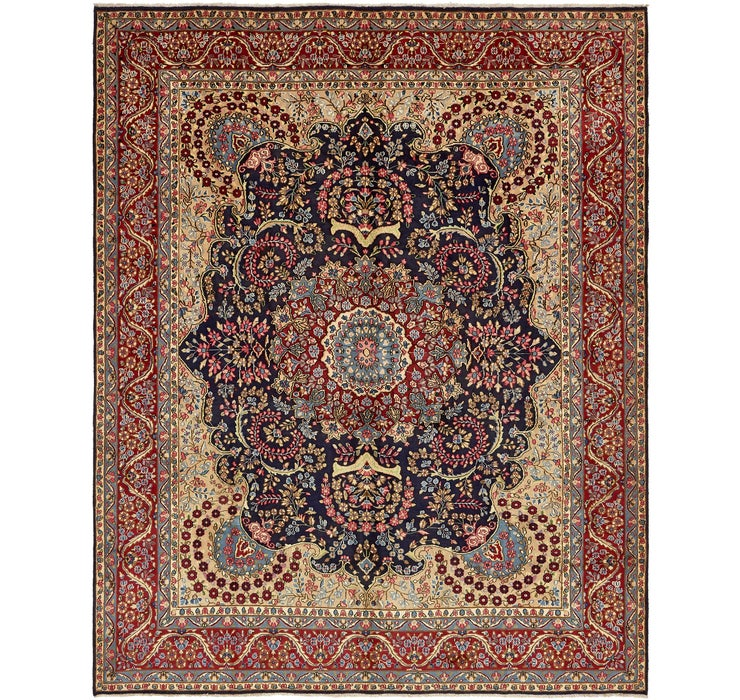 10' 2 x 12' 8 Kerman Persian Rug