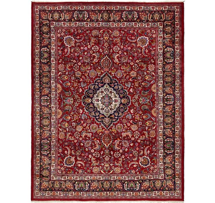 295cm x 385cm Mashad Persian Rug
