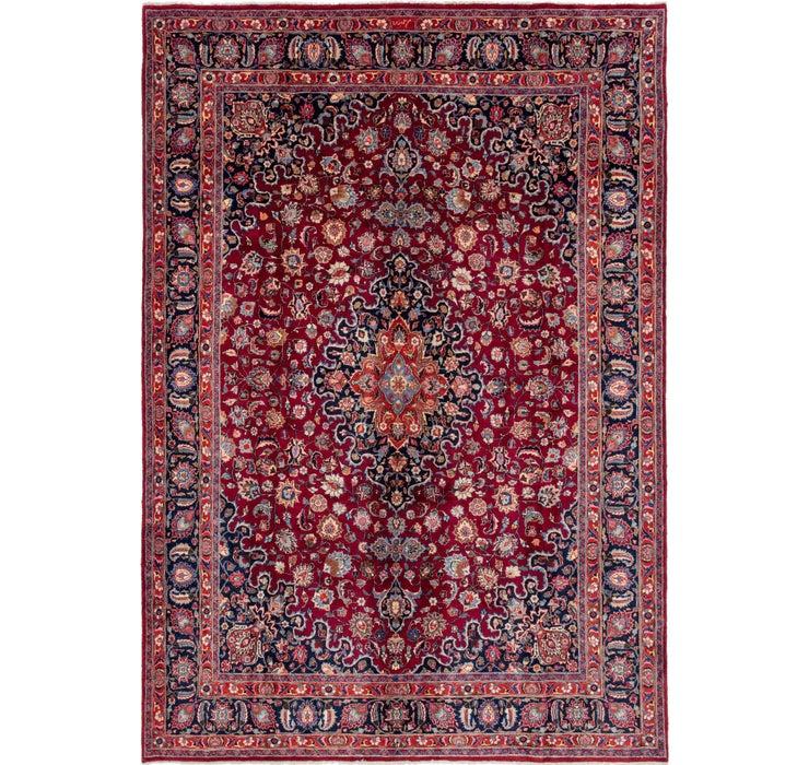 280cm x 405cm Mashad Persian Rug