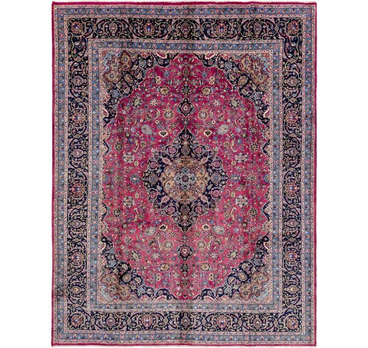 10' 9 x 12' 9 Mashad Persian Rug