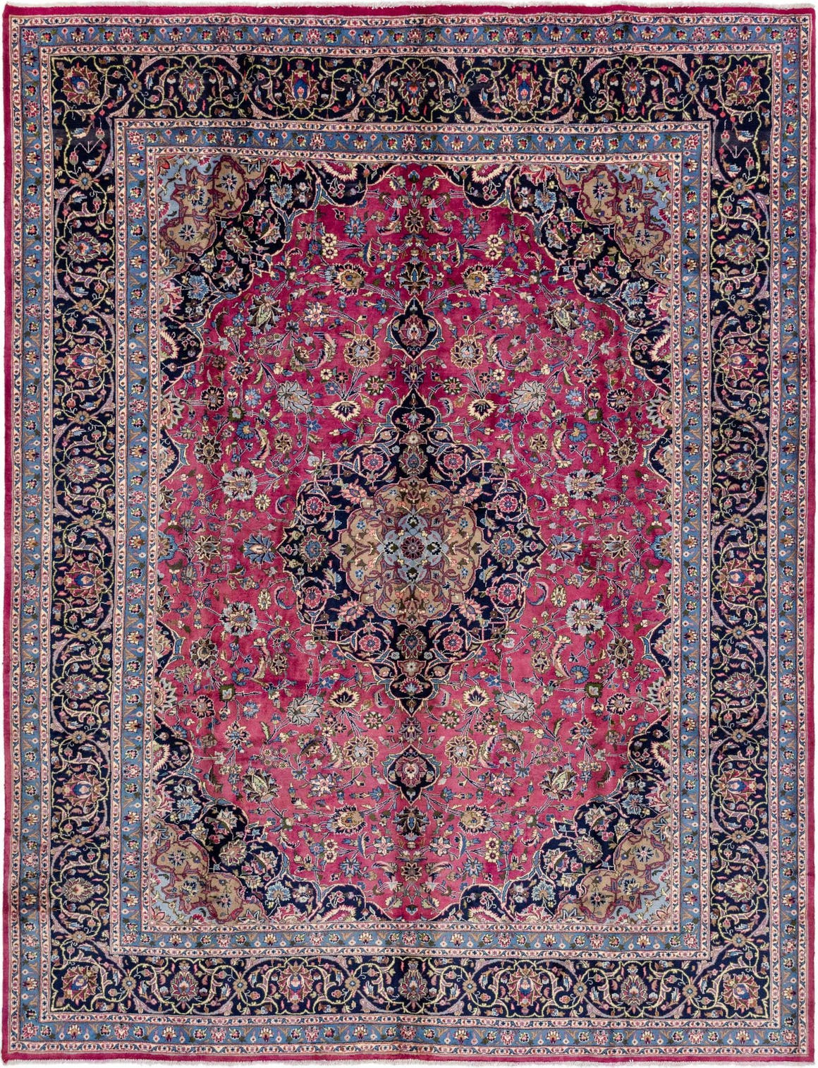 10' 9 x 12' 9 Mashad Persian Rug main image