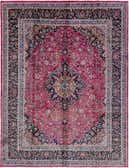 10' 9 x 12' 9 Mashad Persian Rug thumbnail