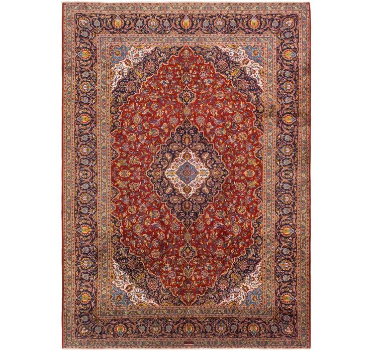 312cm x 440cm Kashan Persian Rug