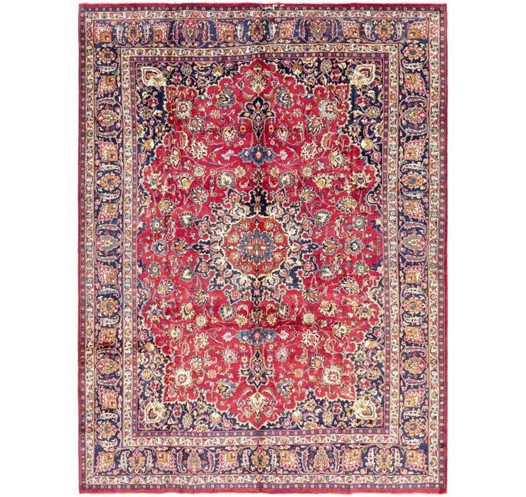 9' 9 x 12' 8 Mashad Persian Rug