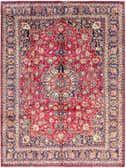 9' 9 x 12' 8 Mashad Persian Rug thumbnail