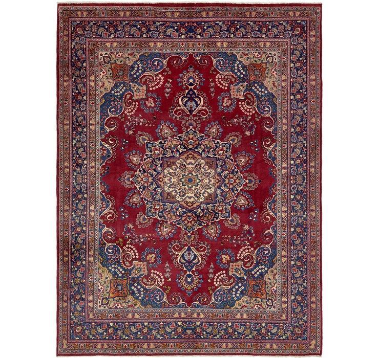9' 4 x 12' 8 Mashad Persian Rug