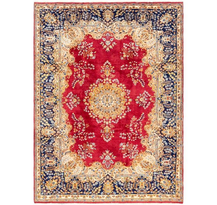 225cm x 312cm Kerman Persian Rug