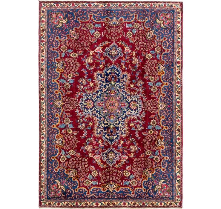 213cm x 310cm Mashad Persian Rug