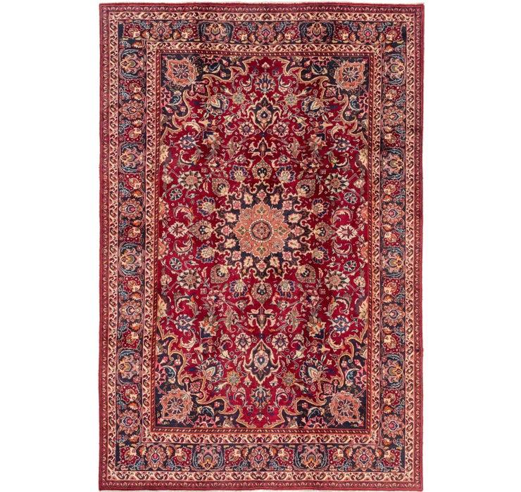 6' 3 x 9' 10 Mashad Persian Rug