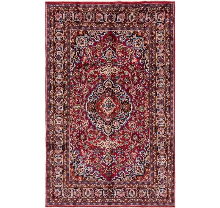 190cm x 305cm Mashad Persian Rug
