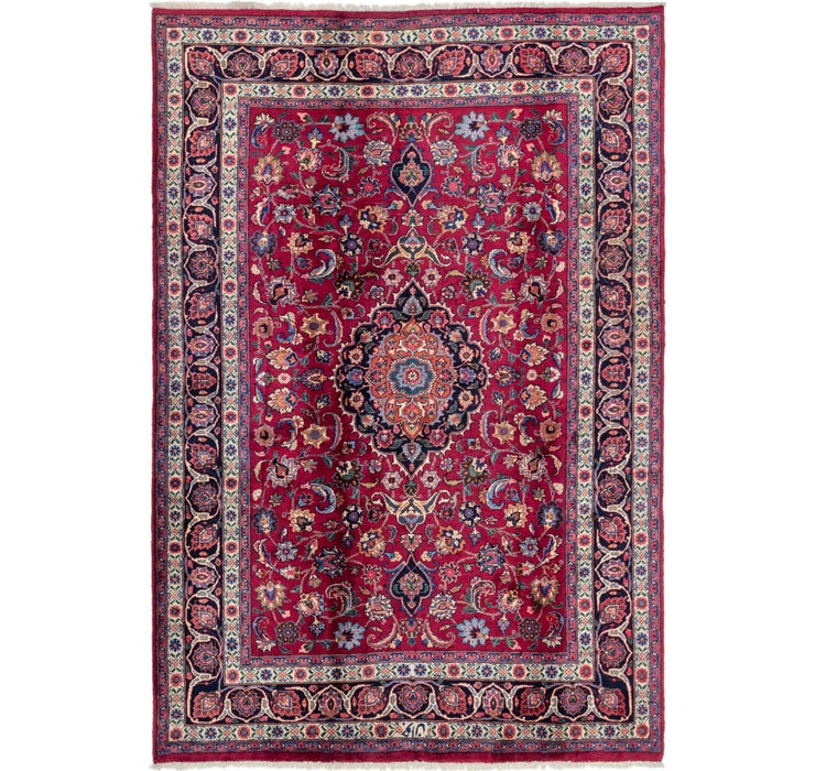 203cm x 297cm Mashad Persian Rug